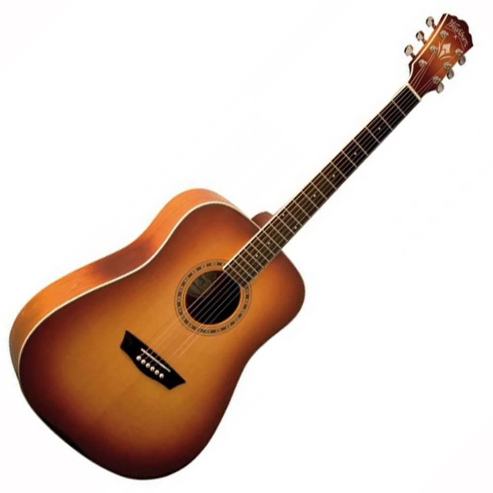 Washburn Harvest series D7S-ACS Acoustic RW Cherry Sunburst + Free Jim Dunlop Acoustic Guitar Accessory Pack £109 @ Rich Tone Music