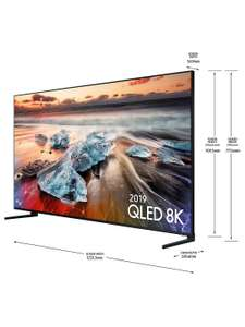 Samsung QE55Q950R (2019) QLED HDR 3000 8K Ultra HD Smart TV £2,699 @ John Lewis & Partners (With - Claim Samsung Note 10+ 5G Promotion)