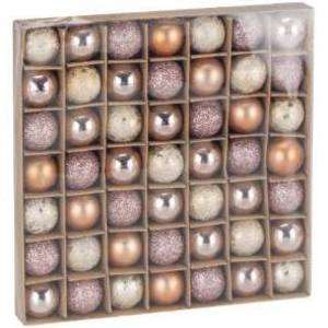 49 Blush Bauble Pack - pink and gold baulbles £2.99 The Range + £2 Order & Collect or £3.95 delivery