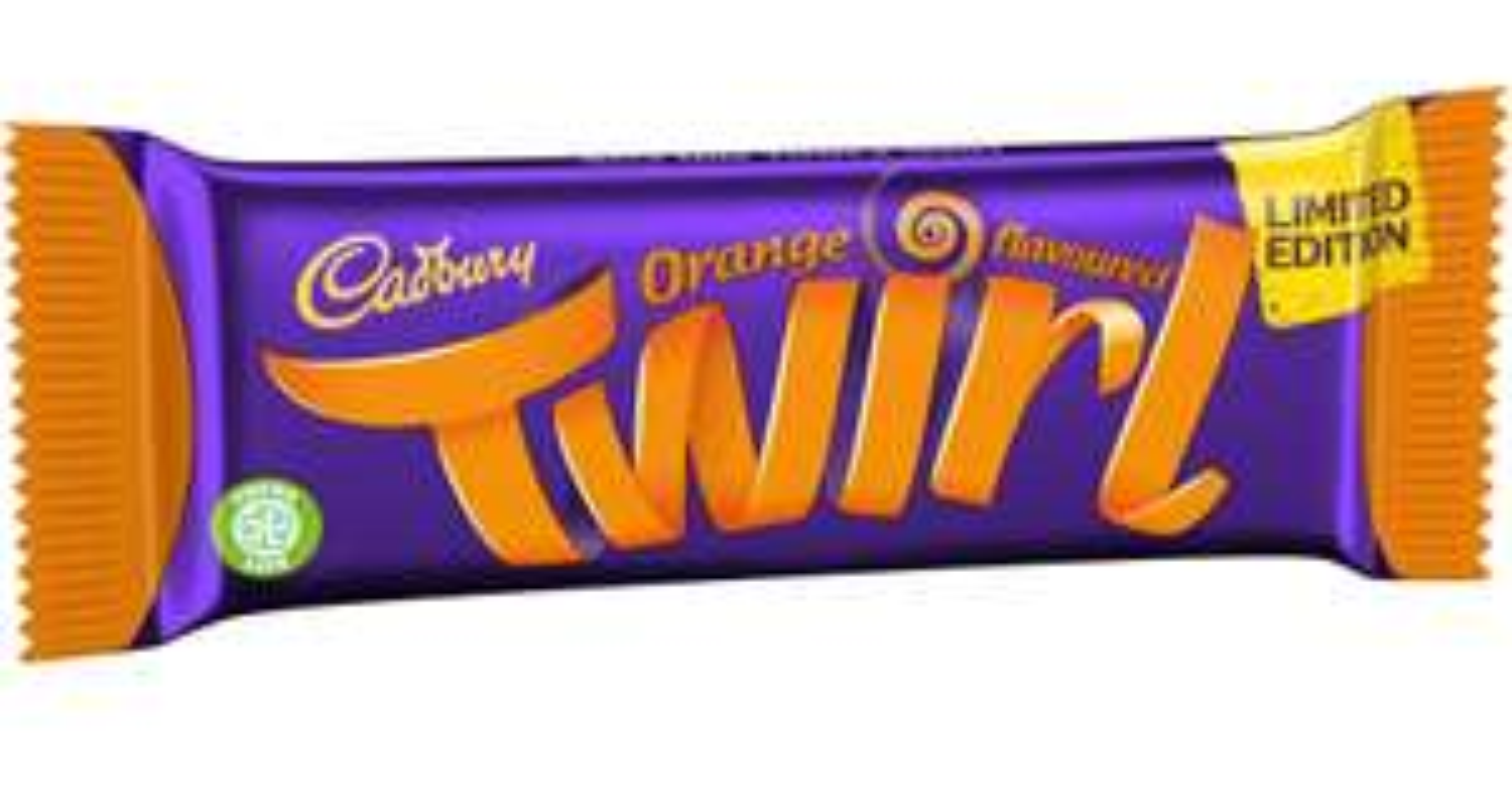 Limited Edition Cadbury Twirl orange 49p in store at B&M