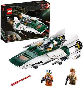 LEGO 75248 Star Wars Resistance A-Wing Starfighter Battle Starship Building Set £18.89 (Prime) / £23.38 (non Prime) at Amazon