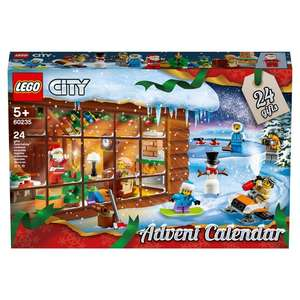LEGO City Advent Calendar 60235 £16 @ Tesco