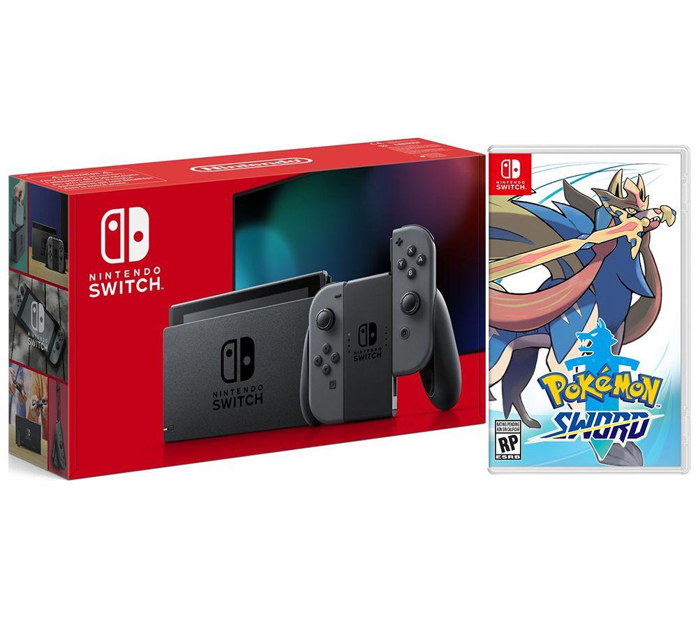 Nintendo Switch Console & Pokemon Sword Bundle £279 @ Currys