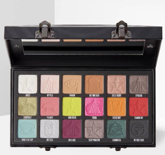 Jeffree Star Cosmetics' formula, The Conspiracy Palette £48 @ Beauty bay