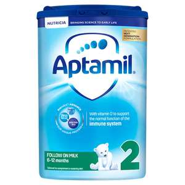 Aptamil Follow On Milk Powder Formula 800g Stage 2, 3 and 4 - 2 for £18 at Asda