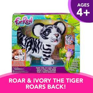 FurReal Roarin' Ivory the Playful Tiger now £60 click and collect @ Argos (more in thread)