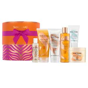 Offer Stack : Eg , X3 Sanctuary Spa Signature Showstopper Gift Set Now £50 With Code & Free Del @ Superdrug
