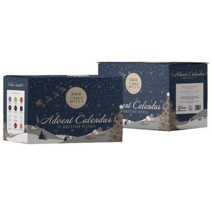 Three Mills 24 British Wines Advent Calendar £29.99 in store at B&M Ellesmere Port