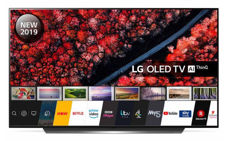 LG OLED55C9PLA 55 Inch OLED 4K Ultra HD Smart TV £1249.99 at Costco