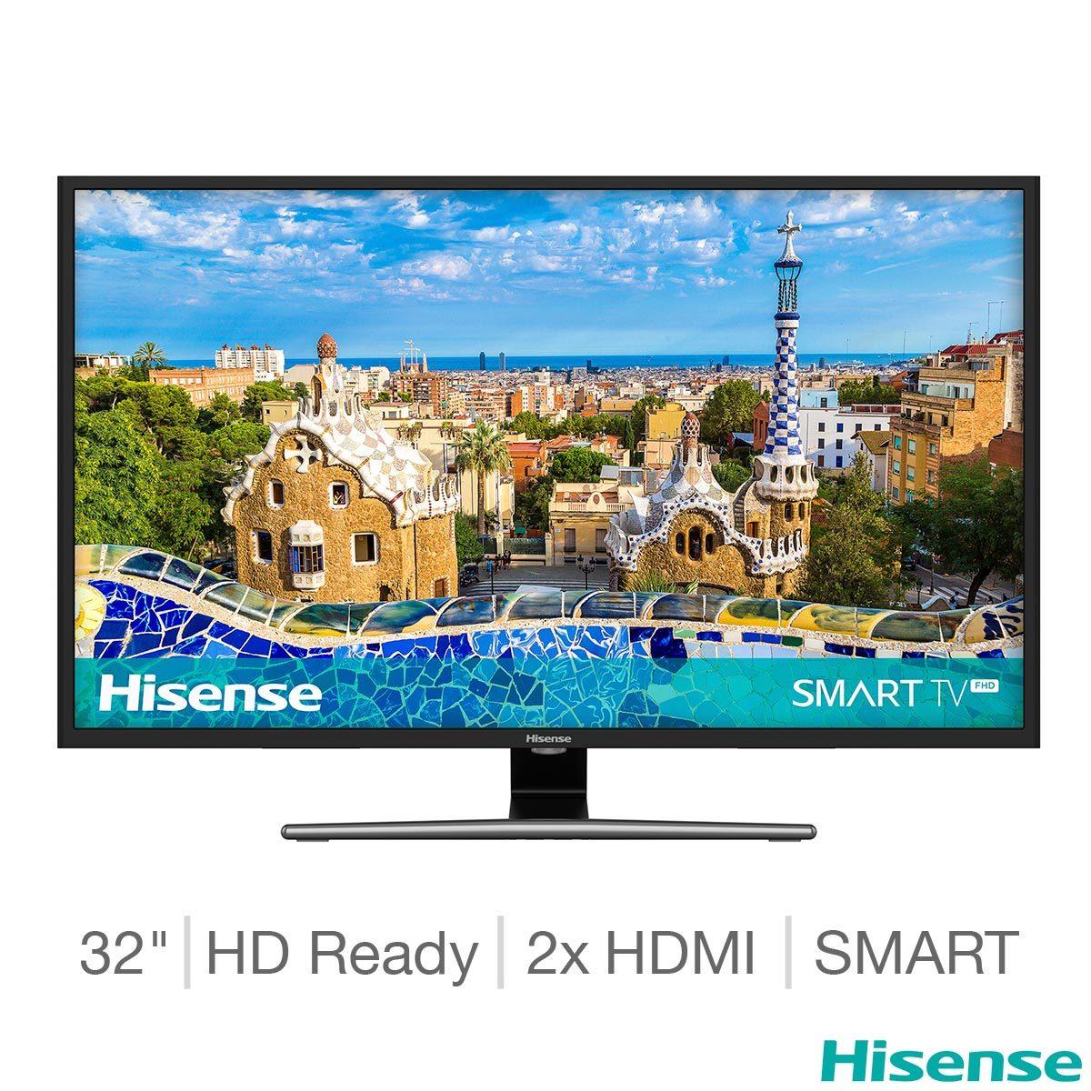 Hisense 32A5800UK 32 Inch HD Ready Smart TV £159.89 @ Costco