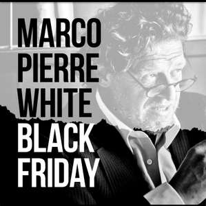 Up to 50% off Marco Pierre White Gift Vouchers Black Friday offer