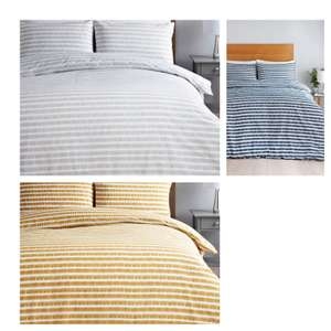 Stripe Duvet Cover - Choice of Size & 3 Colours £7 @ Matalan + free click & collect