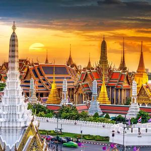 Return Lufthansa Premium Economy flight to Bangkok (Departing LHR / Dec - June dates / Including 2 x 23kg luggage) £571p/p @ BudgetAir