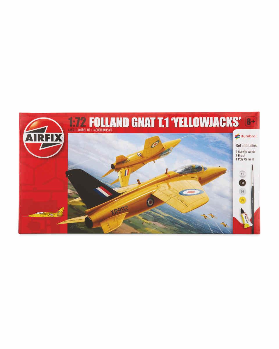 Selection of Airfix starter kitse.g Yellowjacks Gnat Airfix Starter Set £4.99 instore @ Aldi (Stevenage)