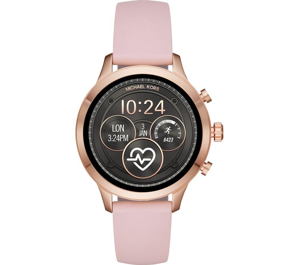 MICHAEL KORS Access Runway MKT5048 Smartwatch - Rose Gold & Pink £179 @ Currys