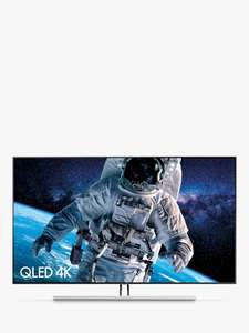 "Samsung QE55Q85R (2019) QLED HDR 1500 4K Ultra HD Smart TV, 55"" + HW-Q60R Bluetooth Cinematic Sound £1399 @ John Lewis & Partners"