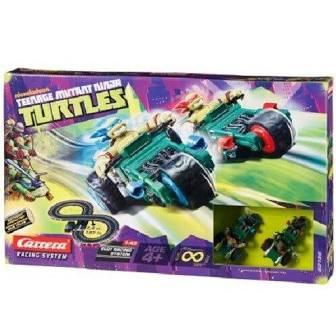 TMNT Teenage Mutant Ninja Turtles Carrera Slot Racing System £11.99 instore @ B&M stores (Tonbridge Branch)