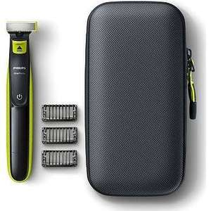 Philips OneBlade QP2520/64 Hybrid Trimmer with Travel Case £28.49 Boots – free Order & Collect