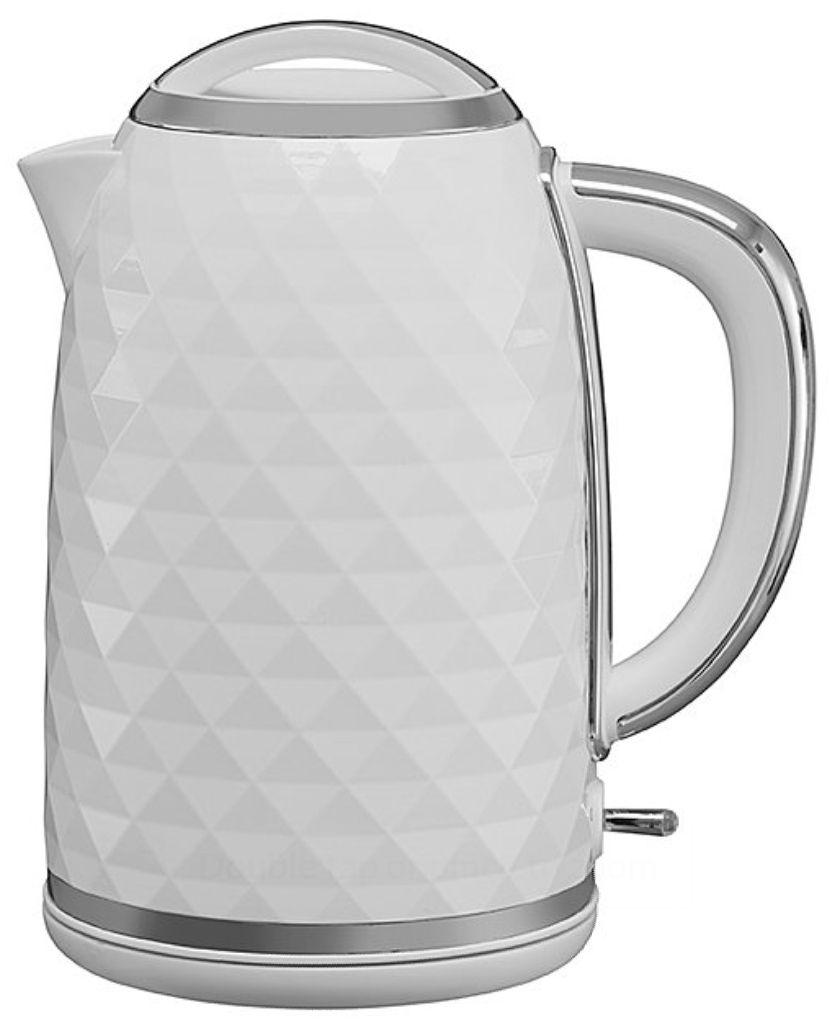 White Diamond Effect 3kw Fast Boil, 1.7l Kettle £13 at Asda Direct