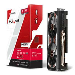 Sapphire Radeon RX 5700/RX 5700 XT 8GB Pulse Graphics Card, £310.36 / £369.99 with code @Ebuyer/ ebay (Free game pass)