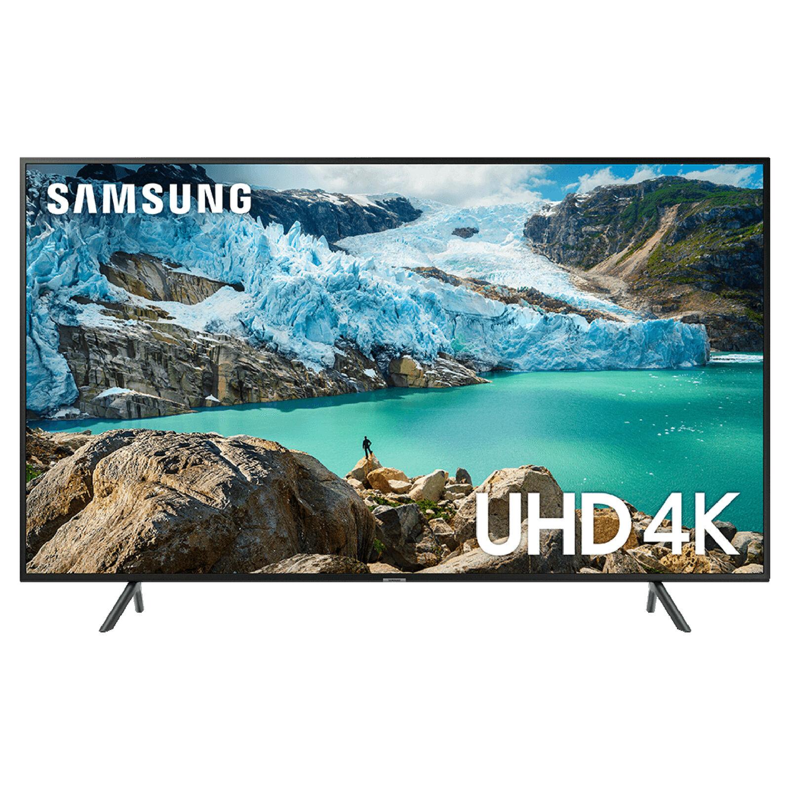 Samsung UE50RU7100KX 50 4K Ultra HD HDR10+ Apple TV Smart TV(2019) £344 with code at Hughes/ebay