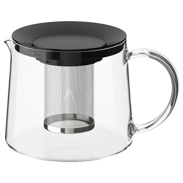 RIKLIG 1.5L Glass Teapot £6 @ Ikea