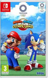 Mario & Sonic at the Olympic Games Tokyo 2020 For Switch £35.19 @ ShopTo / eBay