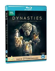 David Attenborough Dynasties Blu Ray £7.99 on cast-iron-dvds eby