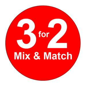 3 for 2 on various on Christmas gifting - From just £1 @ Asda