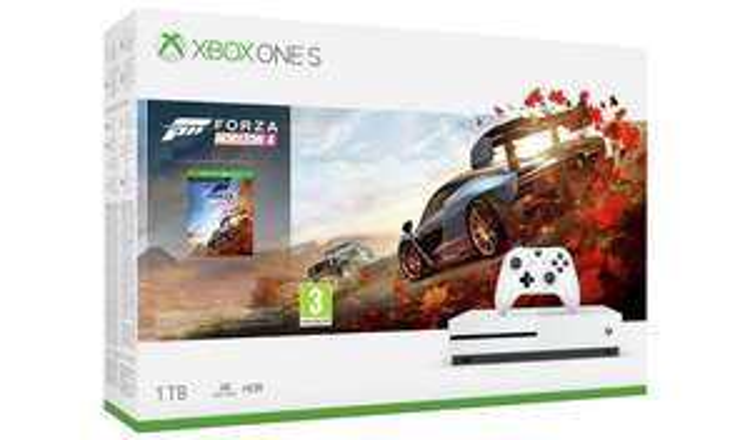 Xbox One S Forza Horizon 4 Bundle £150 / Xbox One S with 3 Months Gold & Gamepass £150 @ Asda (Oxford)