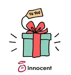 Free gift for Christmas from Innocent Drinks
