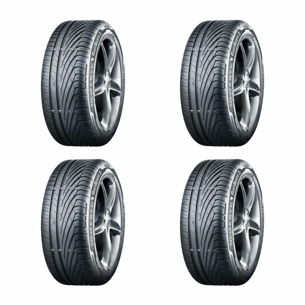 4x 225/45/17 Tyres - Uniroyal RainSport 3 £190.69 delivered with code @ Demon Tweek / eBay