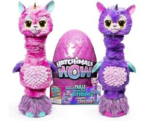 Hatchimals Hatchiwow Llalacorn Interactive Plush Toy £39.99 with Voucher Code @ The Toy Shop