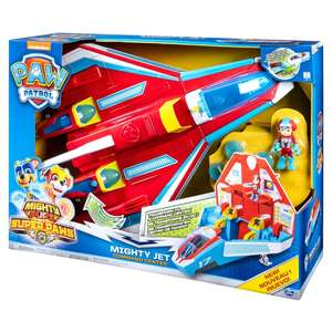 PAW Patrol Super PAWs Mighty Jet Command Center £39.99 @ Symth's (In store or Online)