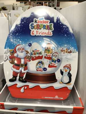 Kinder Surprise and Friends Advent Calendar - £7.18 including VAT instore @ Costco Hayes