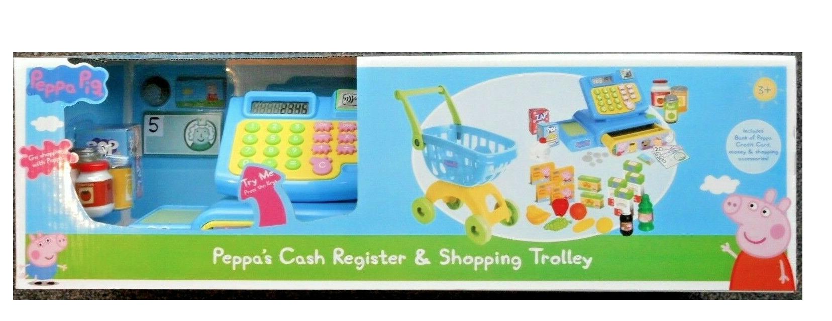 Peppa's cash register and shopping trolley £17 @ Tesco - Batley