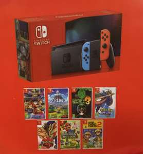 New version Nintendo Switch Console with a Choice of a Free Game (includes Pokemon Sword) - £279 Instore at Tesco