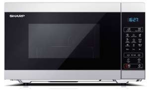 Sharp YC-MG51U-S 900W Digital Touch Control 25L Microwave with 1000W Grill - Silver - £69.99 @ Robert Dyas (Free click + collect)