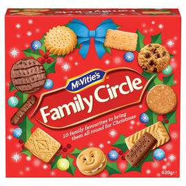 McVitie's Family Circle Biscuits 620g - £2 @ Morrisons