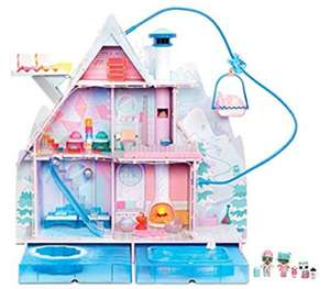 LOL Surprise Winter Disco Chalet Dolls House at Amazon for £158.99