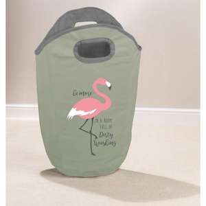 Flamingo Laundry Bag £2.99 in store @ TJ Hughes