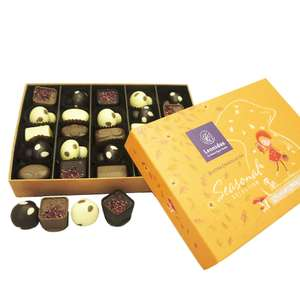 25 chocolate Leonidas Autumnal Box, Limited Edition £22.50 delivered @ Chocolate Express