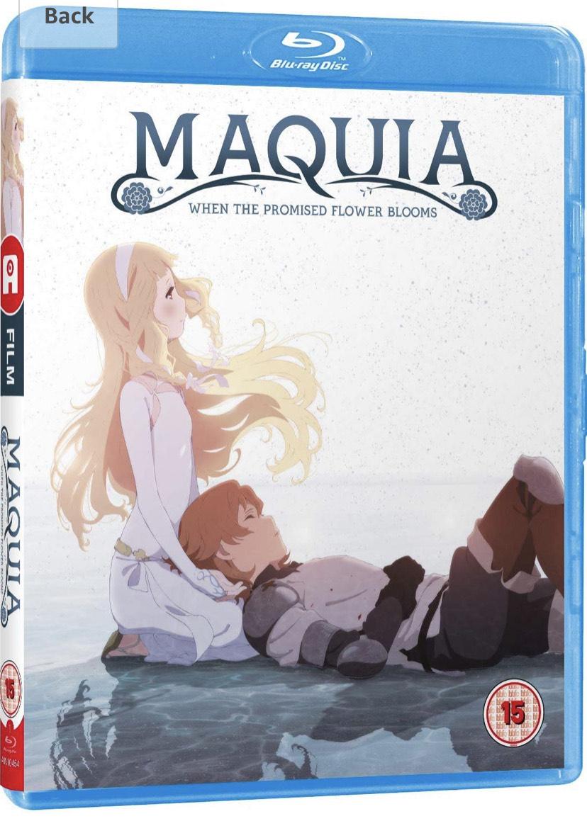 [Blu-Ray] Maquia £6.99 @ Amazon Prime