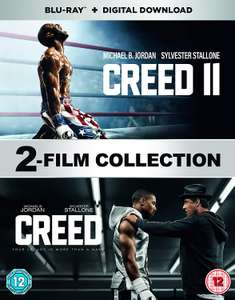 Creed 1 + 2 (Film Collection) Blu-Ray + Digital Download Boxset £9.99 @ Amazon