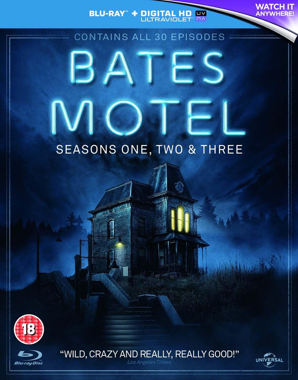 Bates Motel: Seasons One, Two & Three. Blu-Ray + Digital HD Boxset £6.99 @ Amazon UK