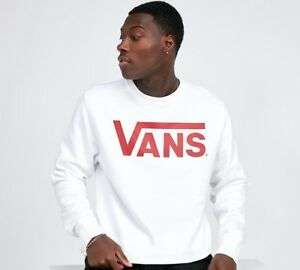 Vans Classic Logo Mens Sweatshirt £22.39 Delivered (With Code) @ Footasylum Outlet eBay