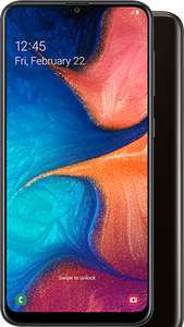 Samsung Galaxy A20e - O2 £20pm for 24 Months with 4GB Data / Unlim Calls + Texts via Mobile Phones Direct **£3.50pm after cashback**