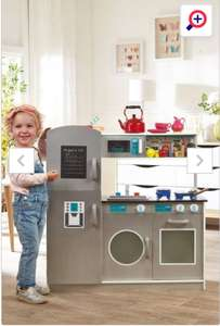 Wooden Play Kitchen - With Optional Personalised Name £40.99 @ Studio