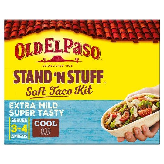 Old El Paso Stand n' Stuff Soft Taco Kit £1.29 @ Aldi (Pentwyn)