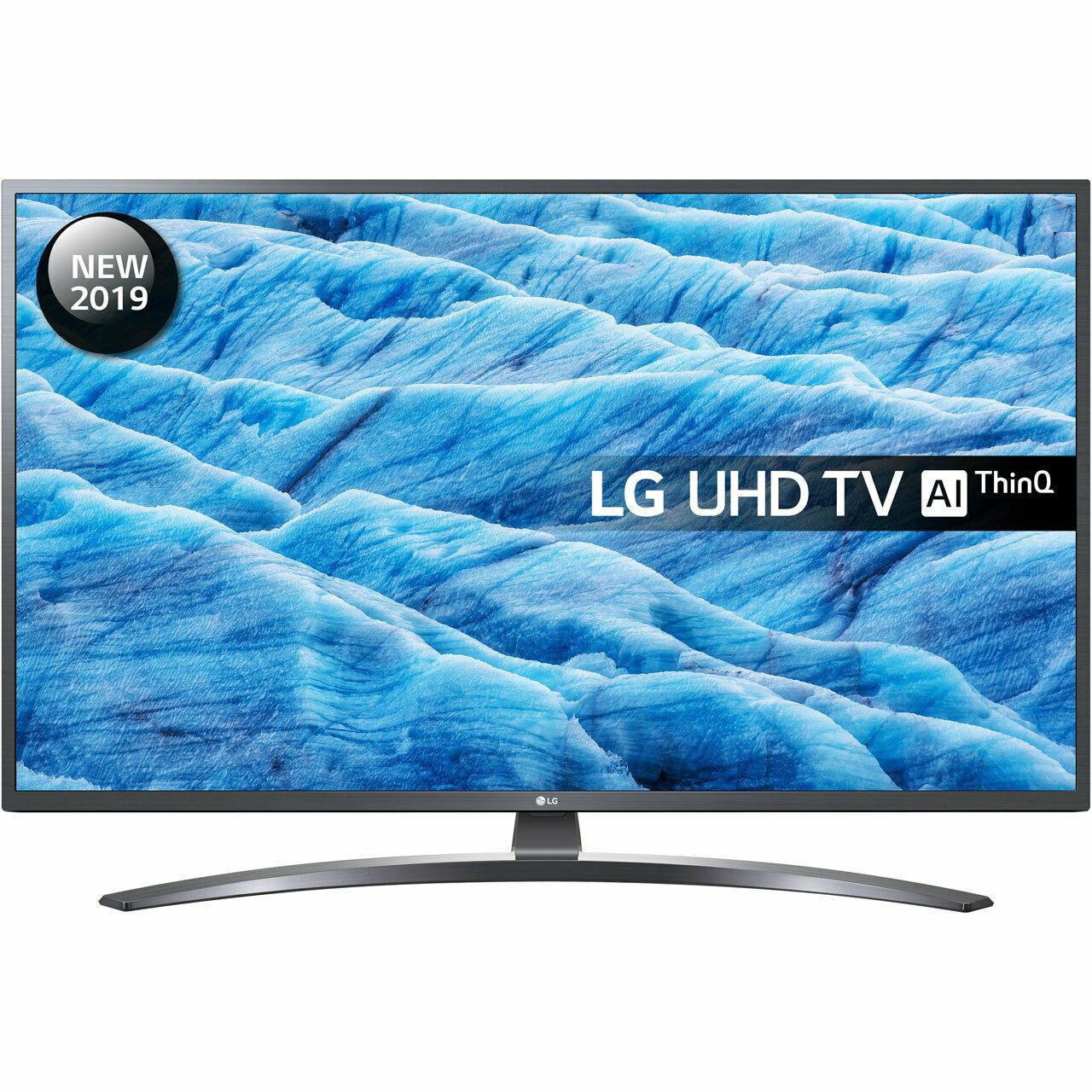 LG 49UM7400PLB UM7400 49 Inch TV Smart 4K Ultra HD LED Freeview HD and Freesat £379 @ AO eBay
